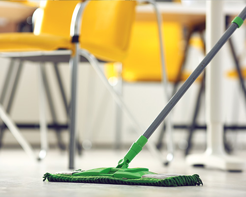 Cleaning of School